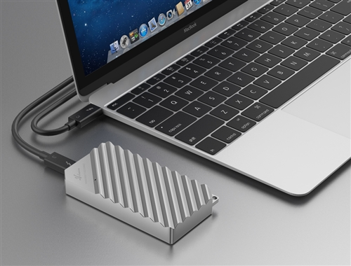 for M.2 NVMe PCIe SSD, Turn Internal PCIe SSD to External SSD 2 Year Warranty 40Gbps Portable SSD External Enclosure Case Retail Avolusion SSDTB900-PRO Thunderbolt 3