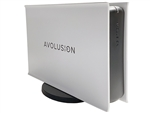 Avolusion HDDGear PRO-5X Series USB 3.0 External Gaming Hard Drive Enclosure White (HDDGU3-PRO5X-WH) - Retail - 2 Year Warranty