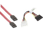 goHardDrive Serial ATA II Data Cable & Serial ATA Power Cable Combo