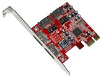 Masscool XWT-PCIE10 SATA + eSATA PCIE controller card (Silicon Image SIL3132 Chipset) - Retail w/ 1 year warranty
