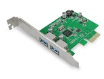 Ineo I-NAC01 2-Port SuperSpeed USB 3.0 PCI Express x1 Controller Card - Retail