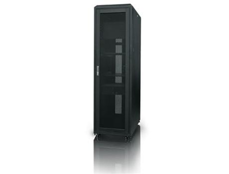 IStarUSA WN428 42U 800mm Depth Rack Mount Server Cabinet   Black