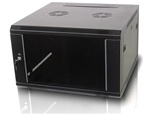 iStarUSA WM645B 6U 450mm Depth Wallmount Server Cabinet - Black