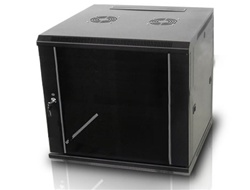 iStarUSA WM1545B 15U 450mm Depth Wallmount Server Cabinet - Black