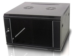 iStarUSA WM660B 6U 600mm Depth Wallmount Server Cabinet - Black
