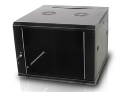 iStarUSA WM960B 9U 600mm Depth Wallmount Server Cabinet - Black