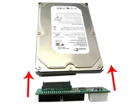 how to connect hard drive to sata motherboard