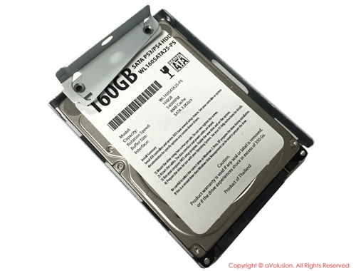 Avolusion 160gb 5400rpm Sata 2 5 Playstation3 Hard Drive Ps3 Fat Ps3 Slim Ps3 Super Slim