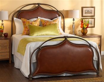 Merced Iron Bed by Wesley Allen