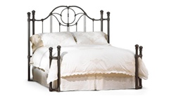 Kenwick Iron Bed by Wesley Allen