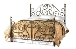 Aberdeen Iron Bed by Wesley Allen