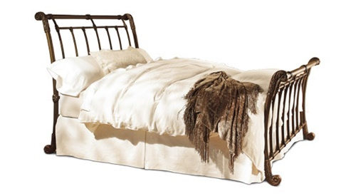 brookshire iron bed by wesley allen
