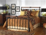 Sheffield Iron Bed by Wesley Allen