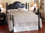 Toscana II Upholstered Iron Bed by Wesley Allen