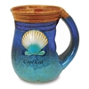 Cape Cod Handwarmer Mug - Shell - Handmade Clay Pottery | LaBelle's General Store