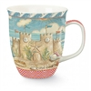 What a pretty mug! | Cape Cod Mug Sandcastle Design | LaBelle's General Store