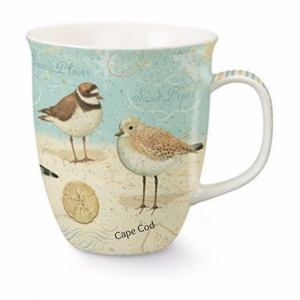 Cape Cod Sand Piper Mug | LaBelle's General Store