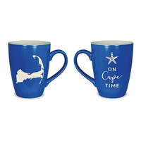 Cape Cod Etched Mug - On Cape Time | LaBelle's General Store