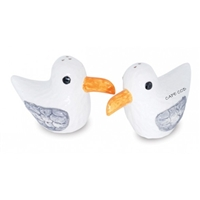 Cape Cod Seagulls Salt & Pepper Shakers | LaBelle's General Store