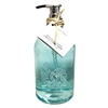 So pretty for my beach themed bathroom and it sparkles by my kitchen sink | Coral Reef Liquid Hand Soap Freshwater Scent