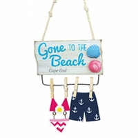 Too cute!  Gone to the Beach Cape Cod Bathing Suits Ornament | Cape Cod Christmas Ornament | LaBelle's General Store