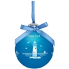 for lighthouse lovers | Cape Cod Light-up Glass Ball Lighthouse Ornament