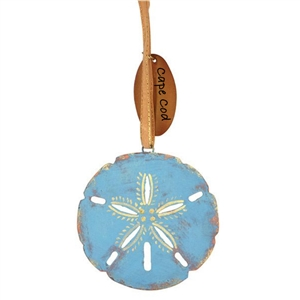 i love the elegant patina finish of this sand dollar ornament  | Cape Cod Ornament | LaBelle Cape Cod