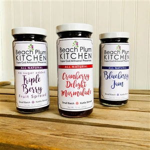 These jams make you think of Cape Cod's best breakfast spots!  Beach Plum Kitchen Breakfast Jams | LaBelle's General Store