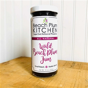 Cape Cod's Beach Plum Kitchen makes their signature amazing, artisanal Wild Beach Plum Jam with all natural, non-gmo ingredients.