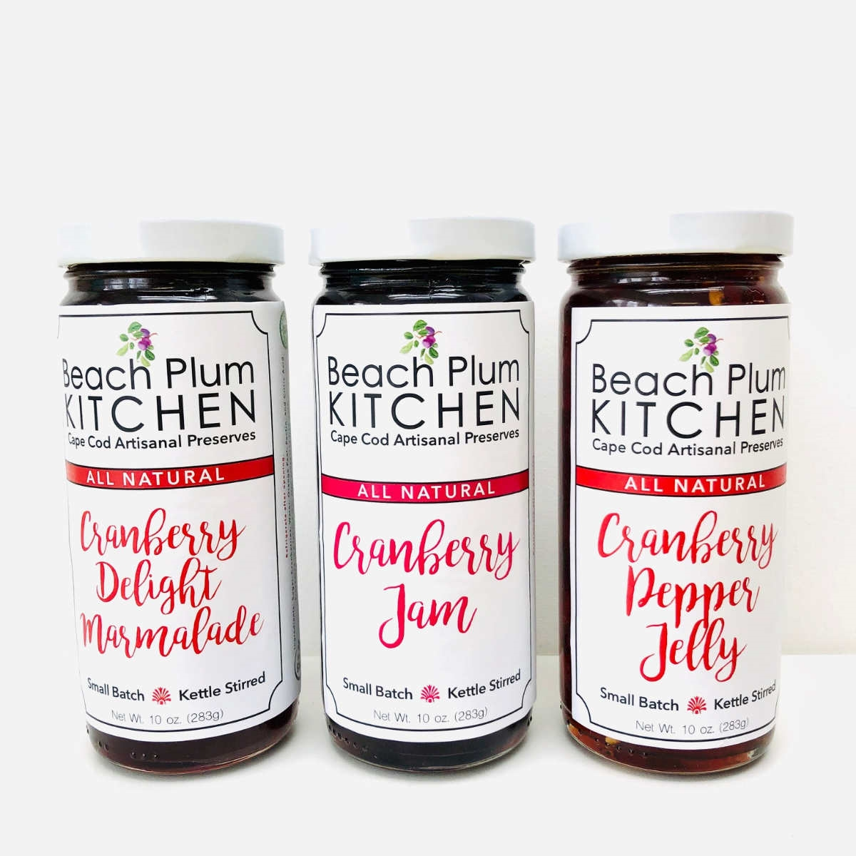 Cape Cod Beach Plum Kitchen | Cranberry Harvest Set