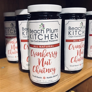 Beach Plum Kitchen - Cranberry Nut Chutney | I love to add this to my morning oatmeal for a flavor and texture treat! | LaBelle's General Store