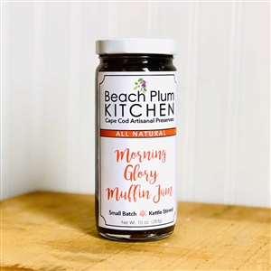 Add the taste of carrot cake to your breakfast with Cape Cod with Beach Plum Kitchen's Morning Glory Muffin Jam!