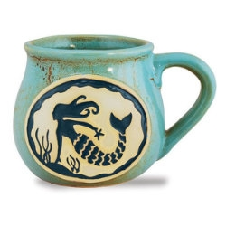 So cute!  Stoneware Bean Pot style Cape Cod mug | LaBelle's General Store