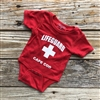 Babies look so adorable in this Cape Cod Lifeguard Onesie Bodysuit!