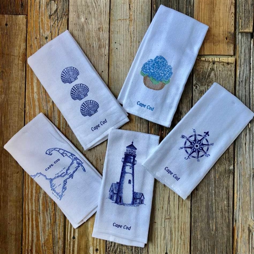 Cape Cod Kitchen Towel | Think about your trip to the Cape while drying your hands | LaBelle's General Store