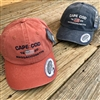 Cape Cod Ball Hat | Distressed look, adjustable in Navy or Beach Plum | LaBelle's General Store