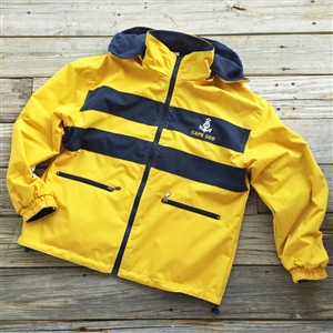 Cape Cod Nor'easter Jacket | Performance & Nautical Style | Perfect for stormy weather | LaBelle's General Store