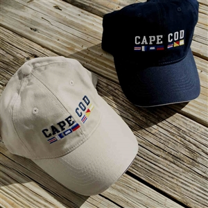 Dad can always use a new hat | Cape Cod Nautical Flags Cap | LaBelle's General Store