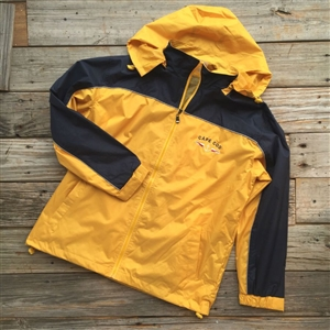 Cape Cod Nautical Windbreaker Jacket | Anchor style | LaBelle's General Store