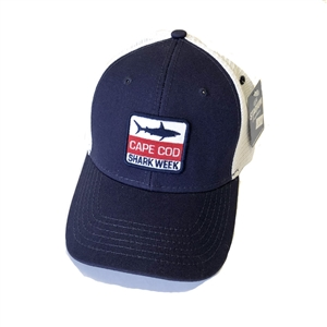 This Cape Cod Shark Trucker Cap has that worn in, soft feel | LaBelle's General Store