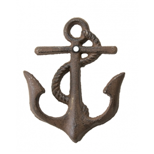 Cast Iron Anchor Hook | Each fluke of the anchor is a hook | LaBelle's General Store