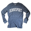 Dennis Port Long Sleeve T-Shirt | Chart a course for Dennis Port in this super comfy and cool Cape Cod nautical tee | LaBelle's