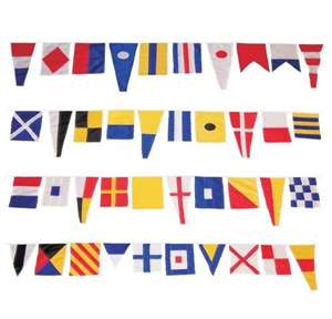 Nautical Signal Flag Banner