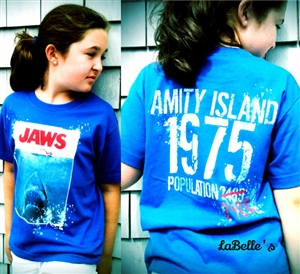 Jaws T-Shirt Vintage Amity Island 1975 | LaBelle's General Store #Jaws