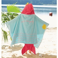 Kid's Mermaid Hooded Towel | LaBelle's General Store | Cape Cod
