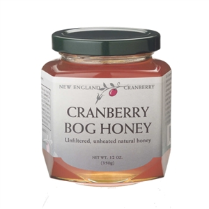 Bees make this delicious Cranberry Bog Honey by pollinating Cape Cod cranberry bogs, so you can add a touch of Cape Cod honey to your tea!
