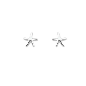 Sterling Silver Starfish Stud Earrings | the cutest dancing starfish earrings for any age | LaBelle's General Store