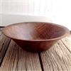 Weavewood Walnut Salad Bowl | Vintage style wooden salad serving bowl made in America | LaBelle's General Store