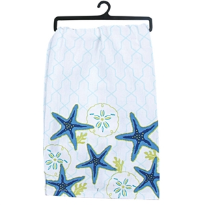 Beach Flour Sack Towel | Think about your trip to the Cape while drying your dishes | LaBelle's General Store