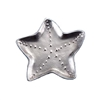 Starfish Metal Trinket Dish |  beach chic design statement for holding and showcasing your jewelry, shells, or even business cards | LaBelle's General Store